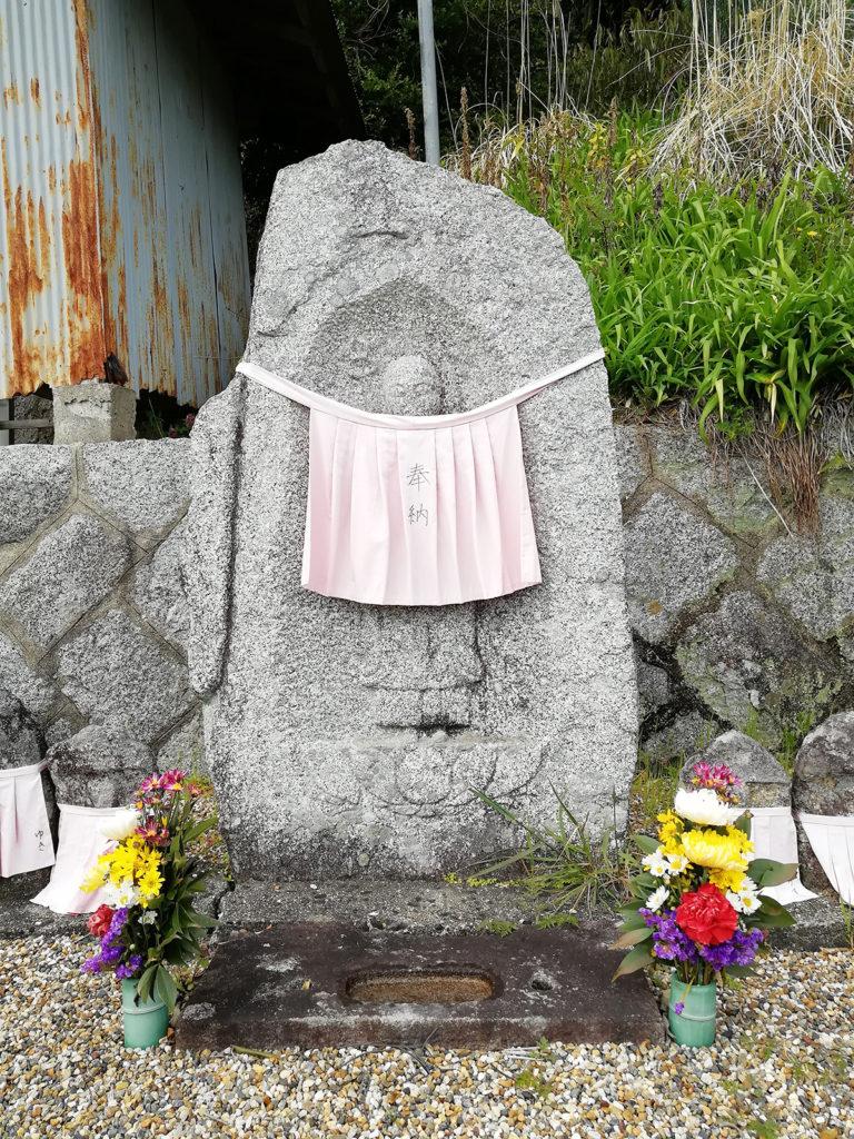 法性寺の石仏